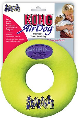 KONG AirDog Donut Dog Toy, Large