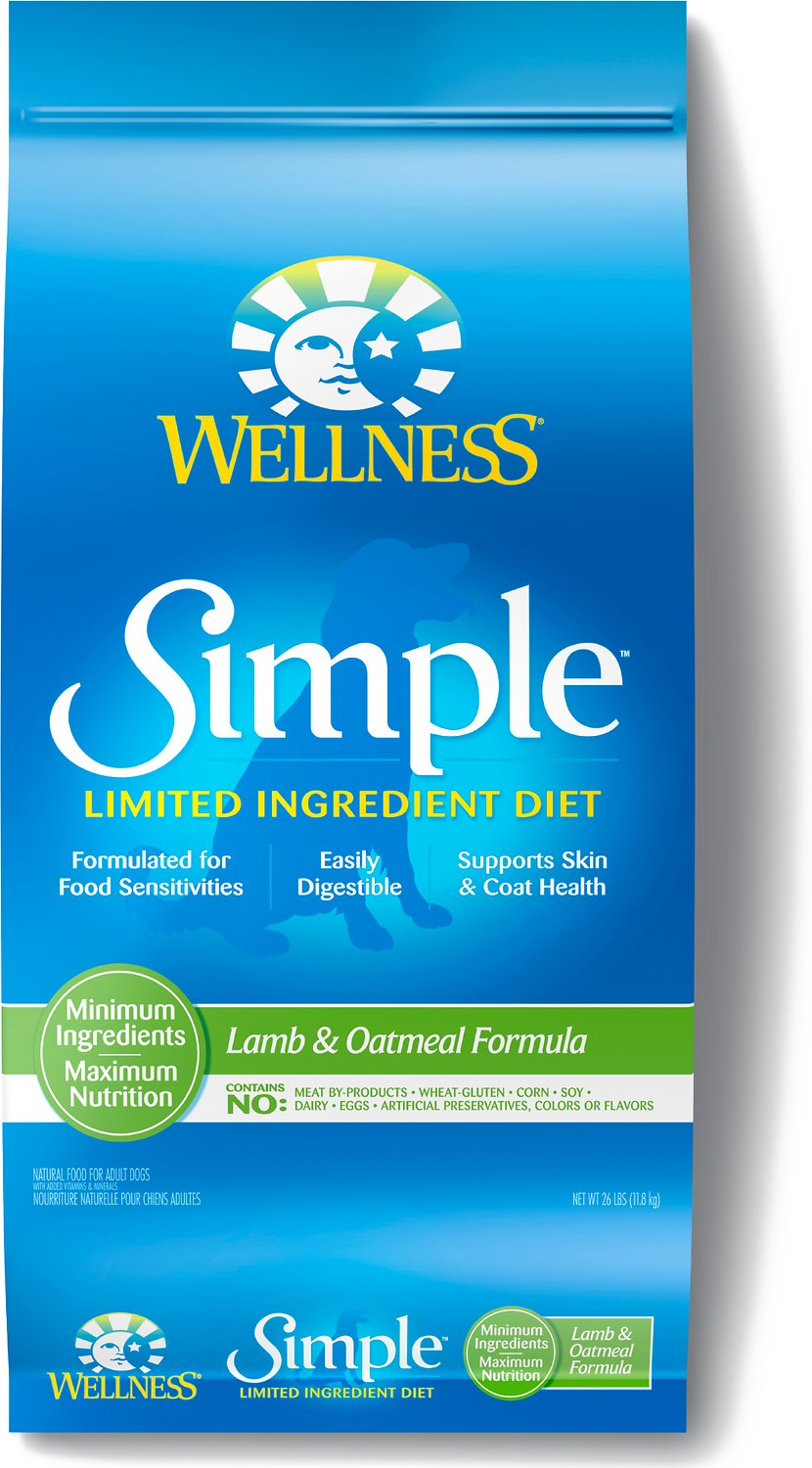 Wellness Simple Limited Ingredient Diet Lamb & Oatmeal Formula Dry Dog Food Image