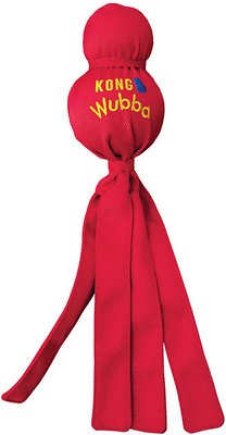 KONG Wubba Classic Dog Toy, Color Varies, Large