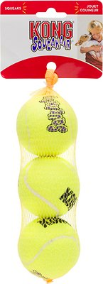KONG AirDog Squeakair Balls Packs Dog Toy, Medium