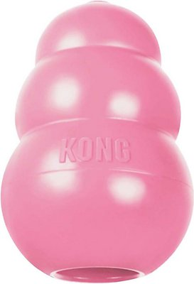 KONG Puppy Dog Toy, Color Varies, Small