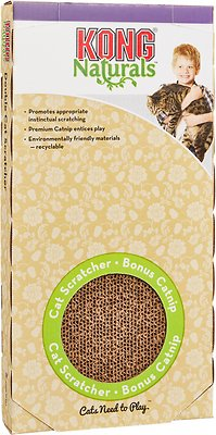 KONG Naturals Cat Scratcher, Double