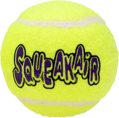 KONG AirDog Squeakair Ball Dog Toy, Medium