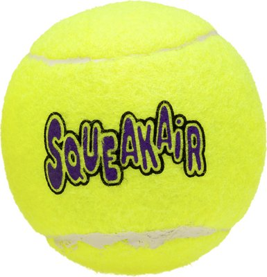 KONG AirDog Squeakair Ball Dog Toy, Large