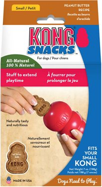 KONG Stuff'N Peanut Butter Snacks Dog Treats, 7-oz