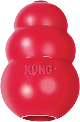 KONG Classic Dog Toy, X-Small Size: X-Small