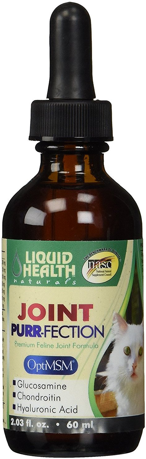 Liquid Health Pets Joint Purr-Fection Cat Supplement, 2-oz