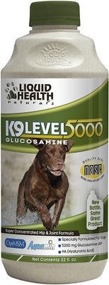 Liquid Health Pets K9 Level 5000 Glucosamine Dog Supplement