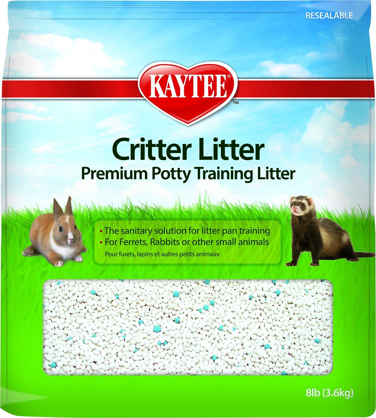 Kaytee Critter Litter Premium Potty Training Small Animal Litter, 8-lb bag