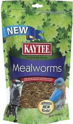 Kaytee Meal Worm Wild Bird Food, 7-oz bag