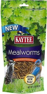 Kaytee Meal Worm Wild Bird Food, 3.5-oz bag