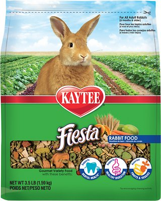 Kaytee Fiesta Gourmet Variety Diet Rabbit Food