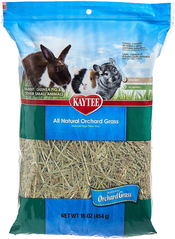 Kaytee All Natural Orchard Grass Small Animal Food, 16-oz bag