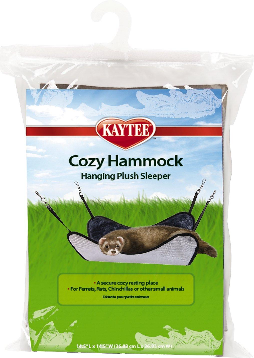 Kaytee Small Animal Plush Sleeper Hammock, 14.5-in