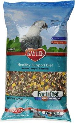 Kaytee Forti-Diet Pro Health Parrot Bird Food, 8-lb bag