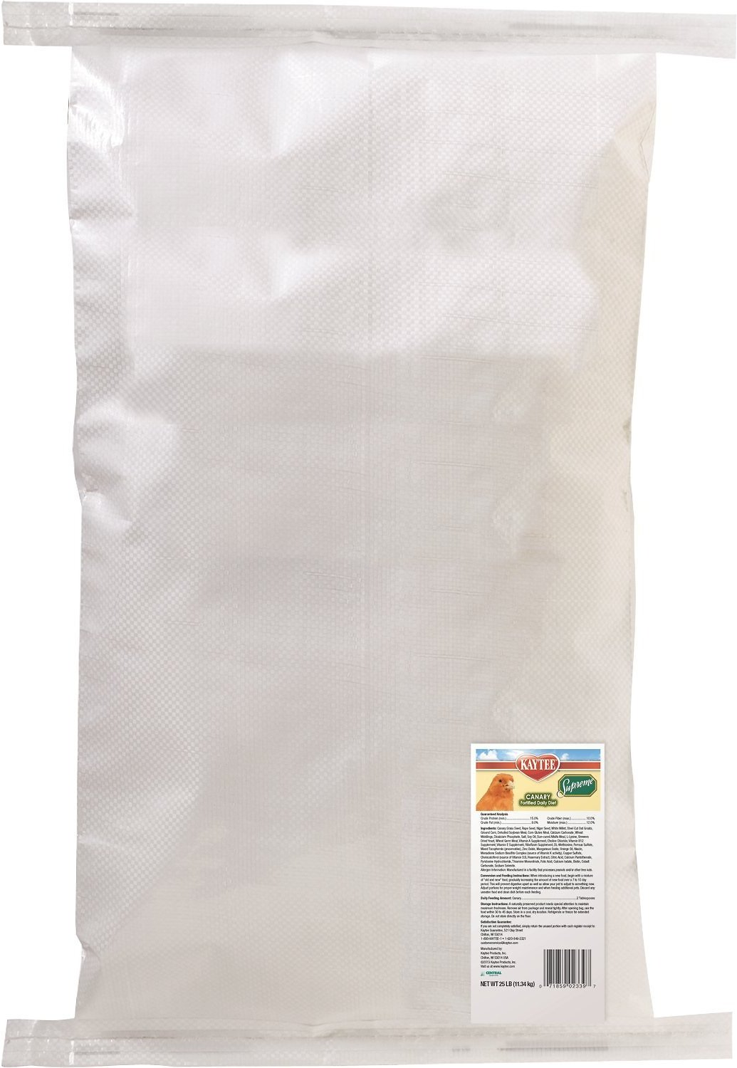 Kaytee Supreme Canary Bird Food, 5-lb bag