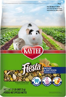 Kaytee Fiesta Gourmet Variety Diet Rat & Mouse Food