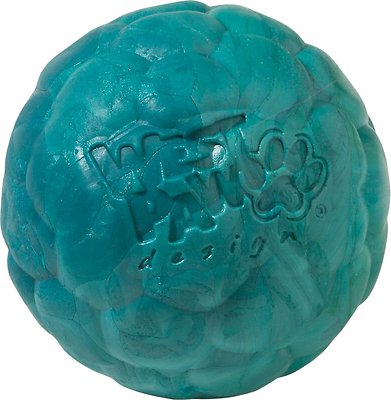 West Paw Zogoflex Air Boz Ball Dog Toy, Peacock