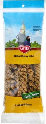 Kaytee Natural Spray Millet Bird Treats, 6-count