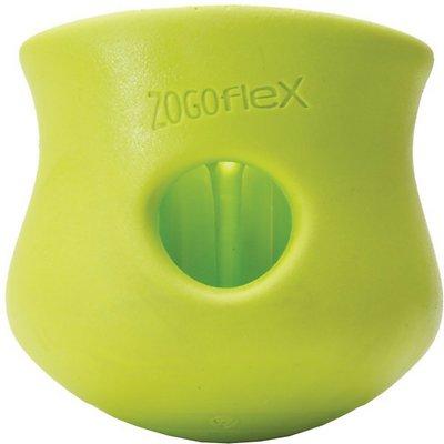 West Paw Zogoflex Toppl Dog Toy, Granny Smith, Small