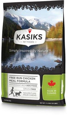 KASIKS Free Run Chicken Meal Formula Grain-Free Dry Dog Food