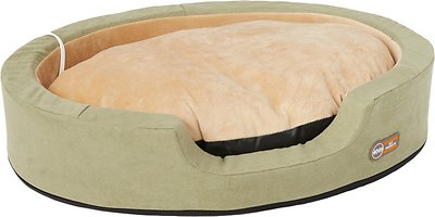 K&H Pet Products Thermo-Snuggly Sleeper Pet Bed, Sage