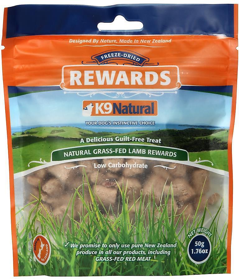 K9 Natural Treats Lamb Freeze-Dried Dog Treats, 1.76-oz bag