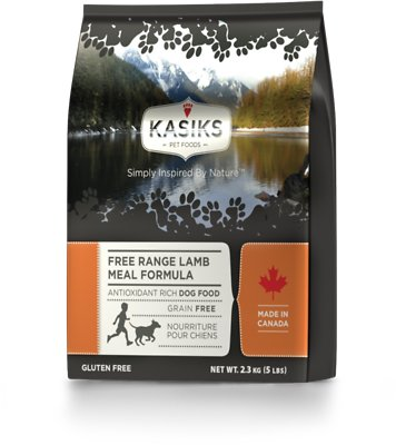 KASIKS Free Range Lamb Meal Formula Grain-Free Dry Dog Food