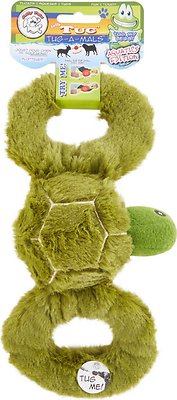 Jolly Pets Tug-a-Mals Turtle Dog Toy