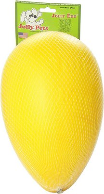 Jolly Pets Jolly Egg Dog Toy, Yellow
