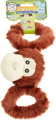 Jolly Pets Tug-a-Mals Monkey Dog Toy