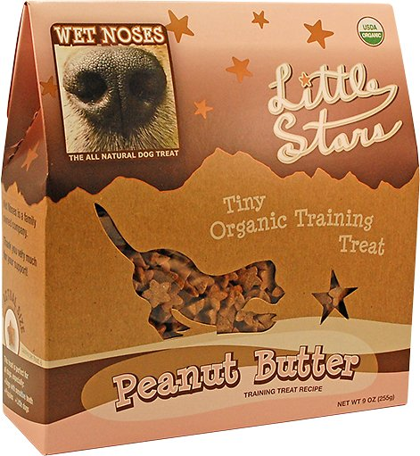Wet Noses Little Stars Peanut Butter Dog Treats