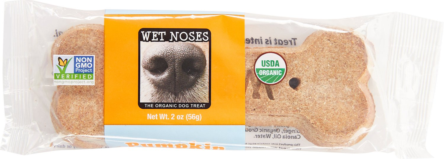 Wet Noses Big Bone Pumpkin Dog Treats