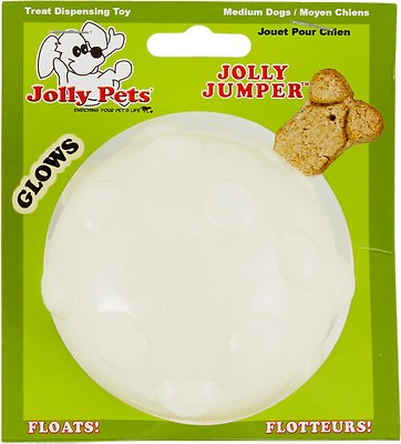 Jolly Pets Jolly Jumper Ball Dog Toy, Glow