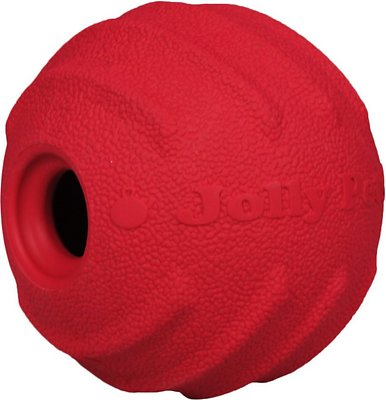 Jolly Pets Tuff Tosser Dog Toy, Red