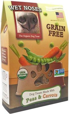 Wet Noses Grain-Free Peas & Carrots Dog Treats