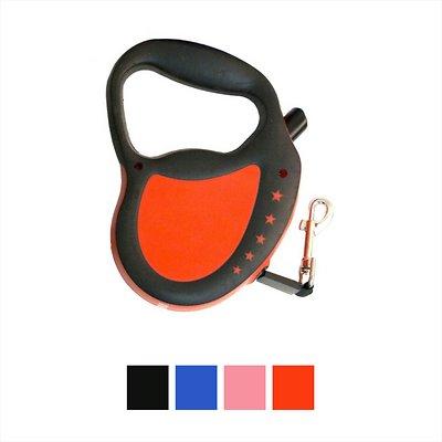 Hyper Pet Retractable Dog Leash, Red, Large