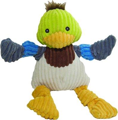 HuggleHounds Knottie Duck Dog Toy, Large