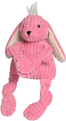 HuggleHounds Knottie Bunny Dog Toy, Small