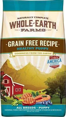 Whole Earth Farms Healthy Puppy Recipe Grain-Free Dry Dog Food, 25-lb bag