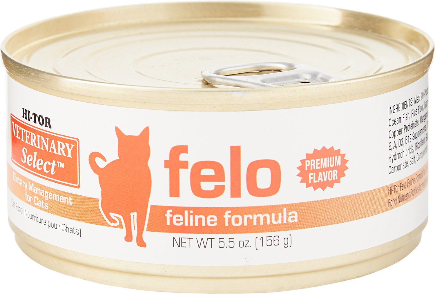 HI-TOR Veterinary Select Felo Diet Canned Cat Food, 5.5-oz