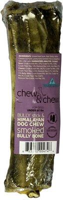 Himalayan Dog Chew & Chew Smoked Bully Bone Dog Treat, Large