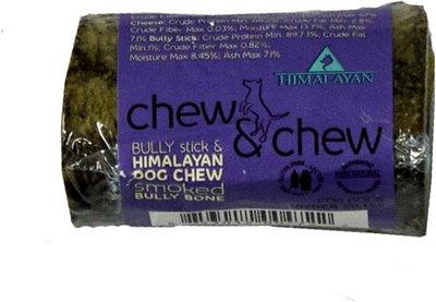 Himalayan Dog Chew & Chew Smoked Bully Bone Dog Treat, Small