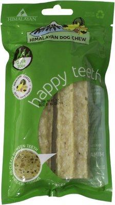 Himalayan Dog Chew Happy Teeth Himalayan Cheese Flavor Dental Dog Treat, 2 piece