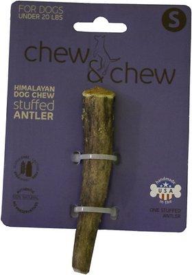 Himalayan Chew & Chew Cheese Stuffed Antler Dog Treat