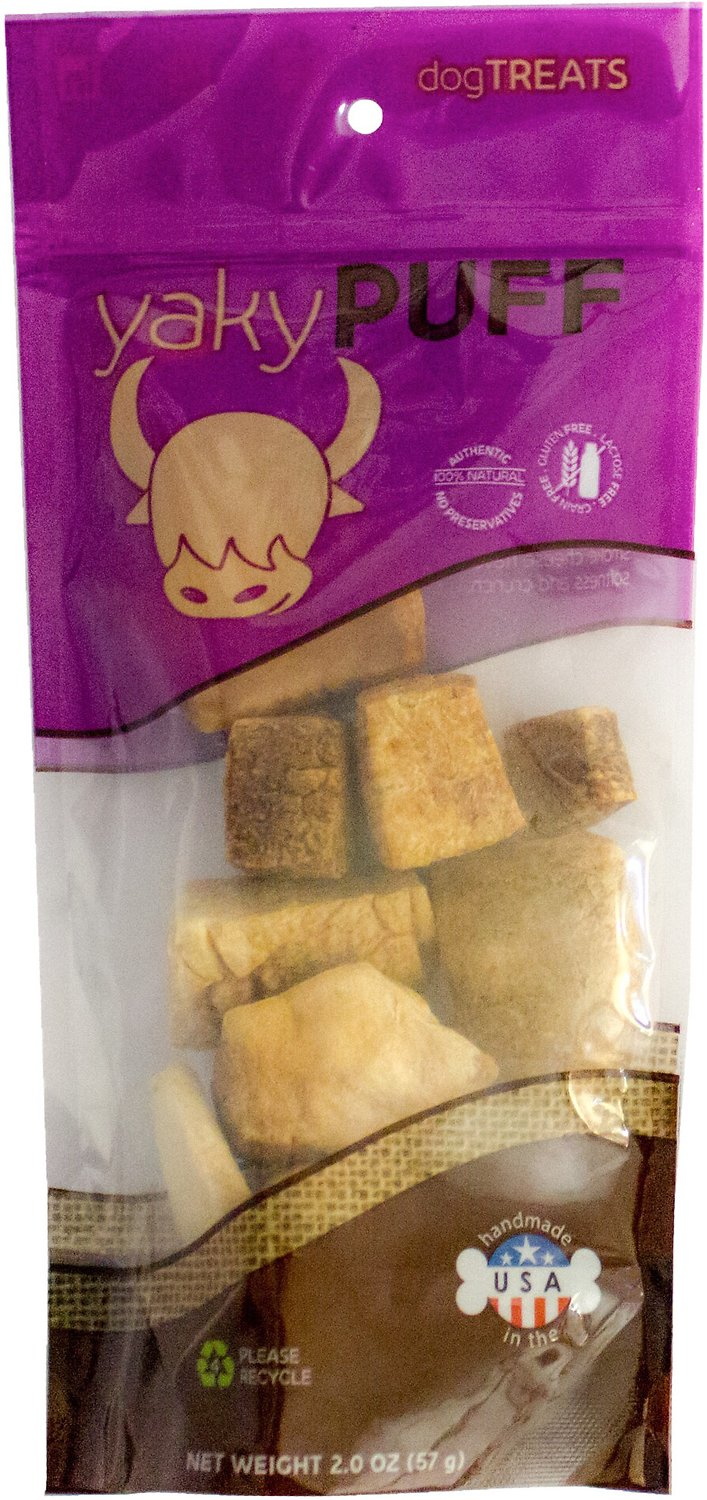 Himalayan Dog Chew Yaky Puff Dog Treats, 2-oz bag