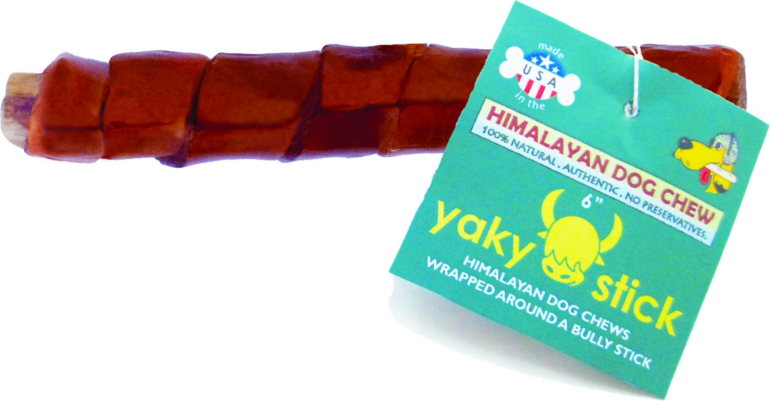 "Himalayan Dog Chew 6"" Yaky Stick Bully Stick Dog Treat"
