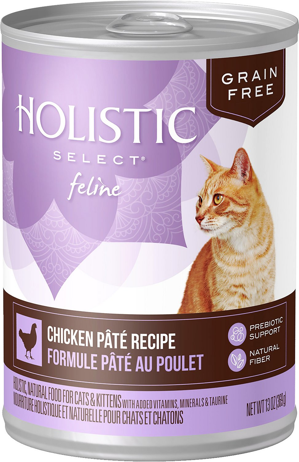 Holistic Select Chicken Pate Recipe Grain-Free Canned Cat & Kitten Food