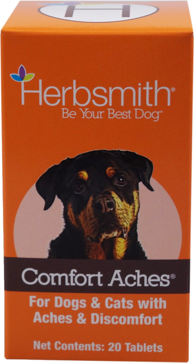 Herbsmith Herbal Blends Comfort Aches Tablets Dog & Cat Supplement