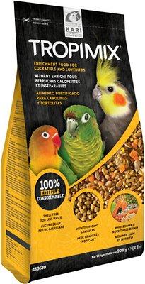 Hari Tropimix Enrichment Cockatiels & Lovebirds Bird Food